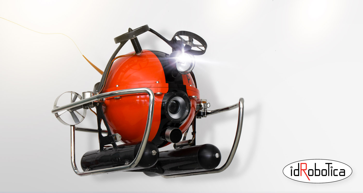 PLUTO PALLA - Lightweight ROV for deep sea exploration